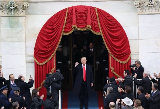 Donald Trump sworn in as 45 th President of US takes over reins from Barck Obama