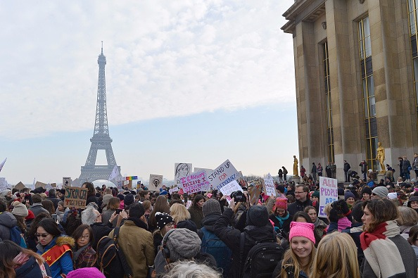 Millions from across the globe join Women's March in protest of Donald Trump's presidency