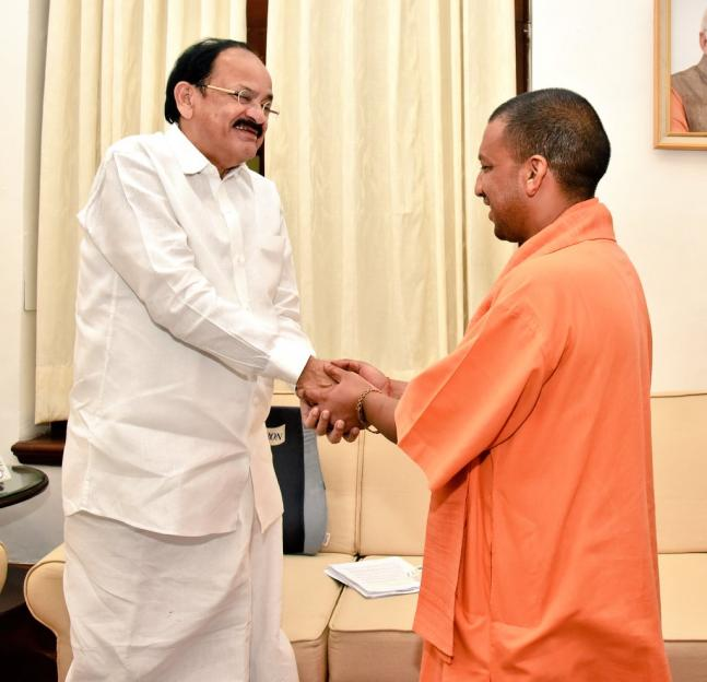 In pics Yogi Adityanath in Delhi Newly elected UP CM meets array of political leaders