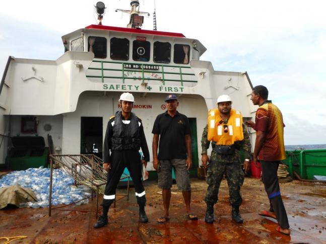 Indian Navy INS Kirch Dornier aircraft rescues Maldivian vessel all crew safe