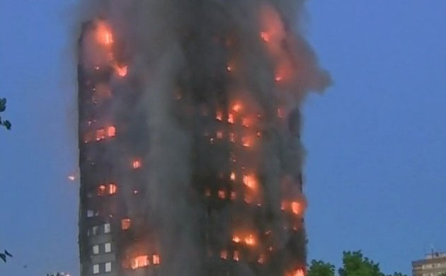 London Fire: Huge blaze engulfs Grenfell Tower in Latimer Road, rescue operations underway