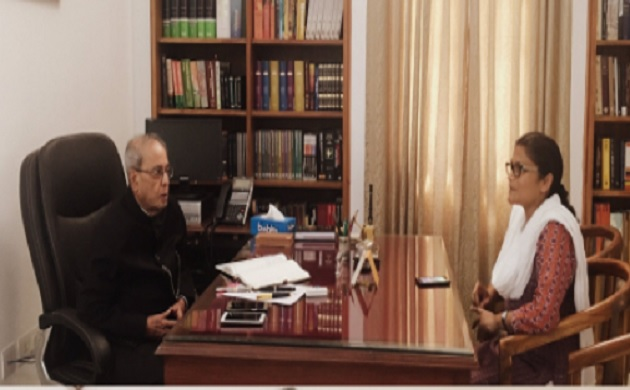 See pics What is Pranab Mukherjee doing after successfully completing his term as President