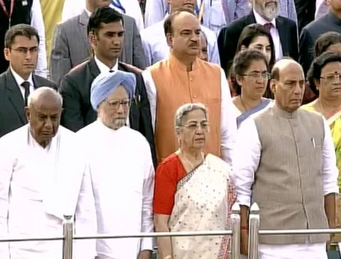 70 Years of Independence: PM Narendra Modi address nation from Red Fort for the fourth time