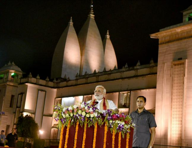 In pics Day 1 of PM Modi visit to his constituency Varanasi