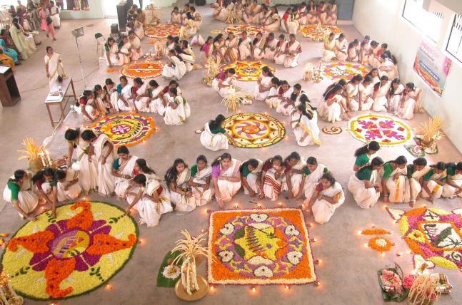 Kerala turns colourful with Onam