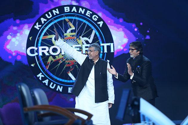 Kaun Banega Crorepati 9 Nobel prize winner Kailash Satyarthi shares stage with Amitabh Bachchan