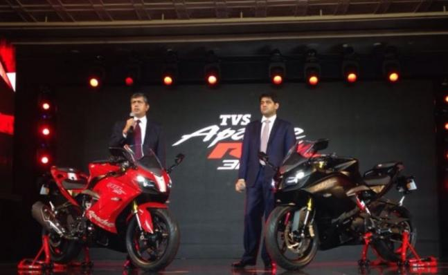 TVS Apache RR 310 launched in India check features specification price