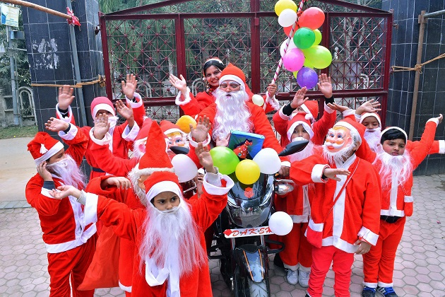 Merry Christmas 2017 Country celebrate colourful festival with much grandeur and zeal