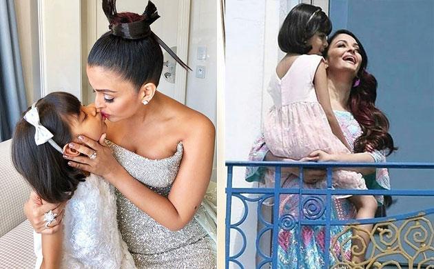 Aishwarya Rai Bachchan Aaradhya Bachchan Cannes 2018 pictures