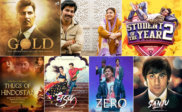 From Sanju to Zero Top seven much anticipated Bollywood flicks in 2018