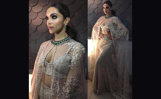 Diwali 2018 Deepika Padukone Salman Khan Check out your favourite celebrity KILLER fusion-wear looks!