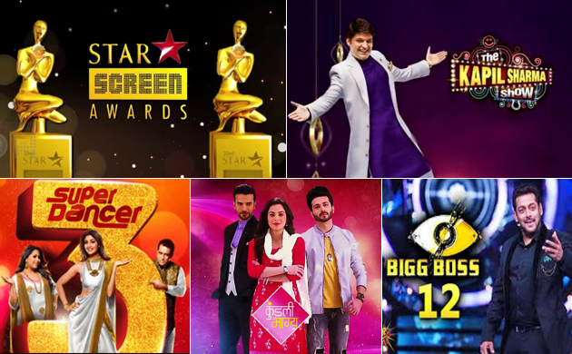 BARC TRP ratings week 1 2019 star screen awards 2019 tops the chart