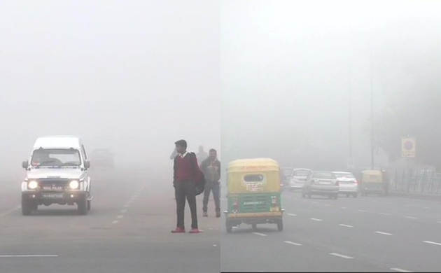 In pics: Heavy fog engulfs Delhi-NCR, several flights and trains affected