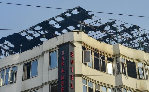 Massive fire at Hotel Arpit Palace in Delhi's Karol Bagh kills 17