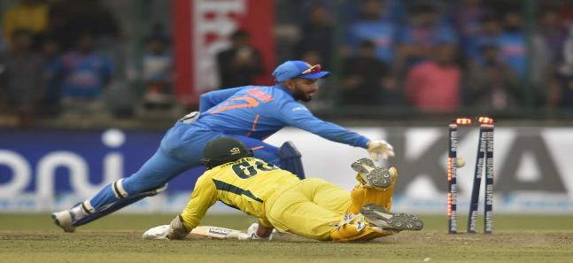 india vs australia fifth odi feroz shah kotla delhi virat kohli aaron finch