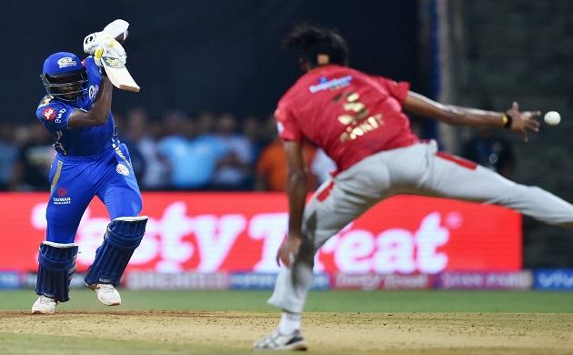 ipl 2019 kieron pollard mumbai indians vs kings xi punjab kieron pollard kl rahul chris gayle
