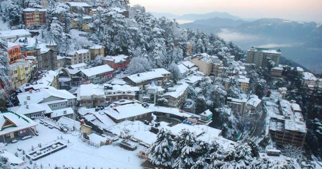 In Pictures: Uttarakhand, Himachal Pradesh hills welcome May with sudden snowfall