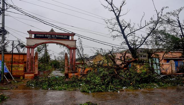 In Pics: Cyclone Fani barrels through Odisha, blows away thatched houses, swamps towns and villages