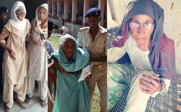 In pictures: Senior citizens beat heat to nurture India's democracy in fifth phase of LS Polls