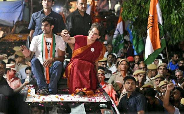 'Delhi girl' Priyanka Gandhi holds first roadshows in national capital