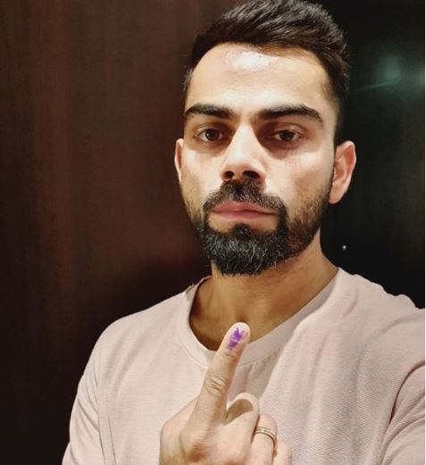 In Pictures: From Virat Kohli to Sidharth Malhotra - celebrities turned up to cast ballot in Phase 6