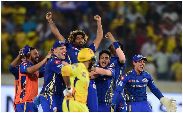 mumbai indians beat chennai super kings one run ipl 2019 final rohit sharma ms dhoni