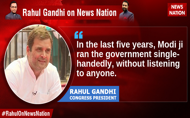 Rahul Gandhi exclusive interview Top 10 quotes on news Nation