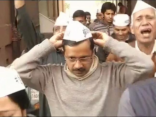 'Aam Aadmi' Arvind Kejriwal is new Delhi CM