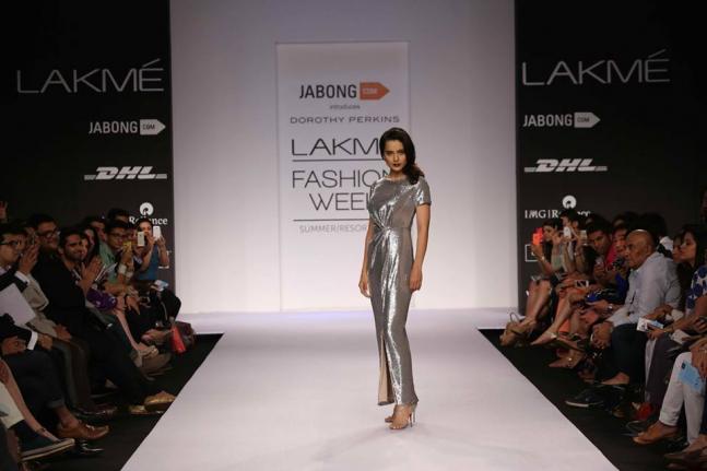 Day 2: Kangana Ranaut shimmers in silver