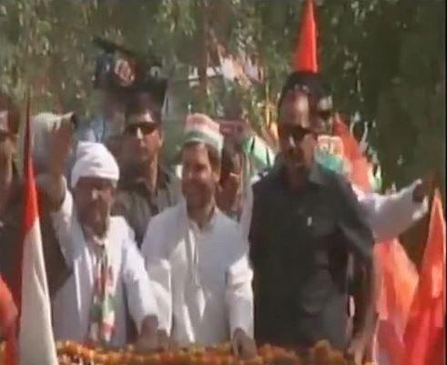Rahul Gandhi's show of strength in Varanasi