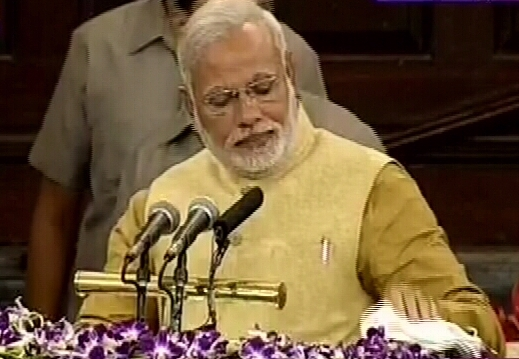 This is how Modi got emotional while delivering speech
