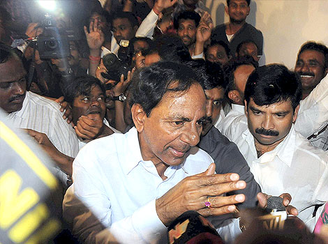 Celebrations: The birth of Telangana
