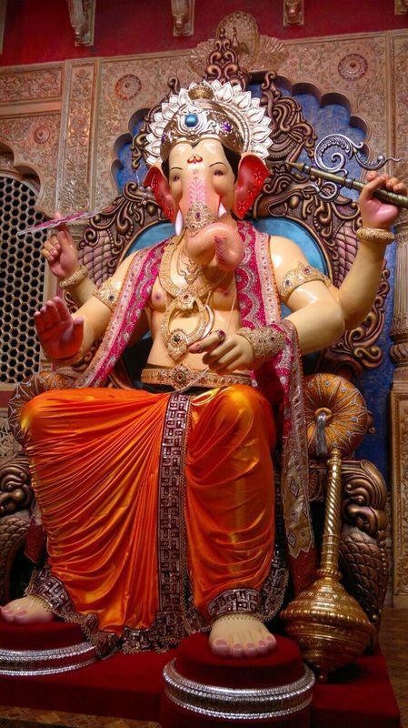 In Pics: Lalbaugcha Raja