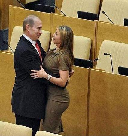Vladimir Putin's new love!