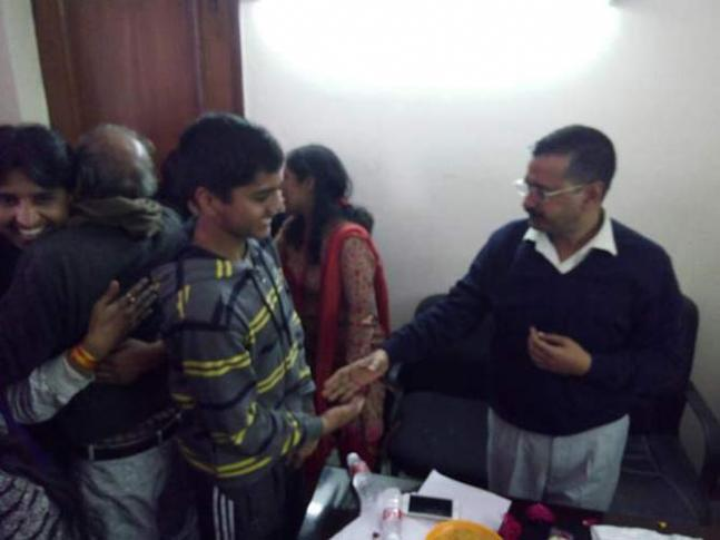 Arvind Kejriwal's winning moments: IN PICS