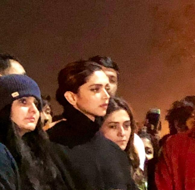 In Pictures: Deepika Padukone Visits JNU, Stands In Solidarity With Students Attacked On Sunday