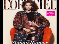 Sonam Kapoor's new magazine shoot!