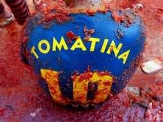 Spain's La Tomatina festival: In Pictures