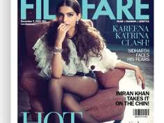 Sonam appears on Filmfare cover