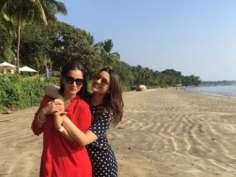 Parineeti Chopra, Sania Mirza holidaying in Goa