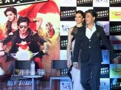 SRK, Deepika bring Chennai Express to Delhi