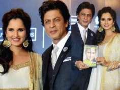 Shah Rukh Khan unveils Sania Mirza's autobiography