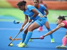 In pics: Indian Men's Hockey Team cheering for Women's Team
