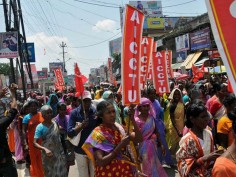 In pics: Central Trade Union Strike's effect on common man in different states