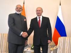 PM Modis Russia visit in pics