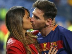 In Pics Lionel Messis LOVE Antonella Roccuzzo check out some special memories of childhood lovebirds here