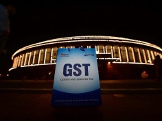 GST rolled  out on July 1 Catch some glimpses of historical night