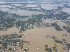 Rijiju reviews flood situation in North East India