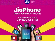 Reliance Jio Phone Pre-Booking starts today details