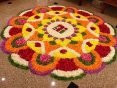 Onam 2017: 5 rangoli designs to adorn your homes on harvest festival